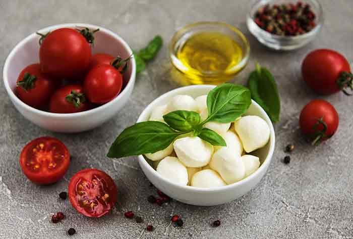 albahaca comida italiana